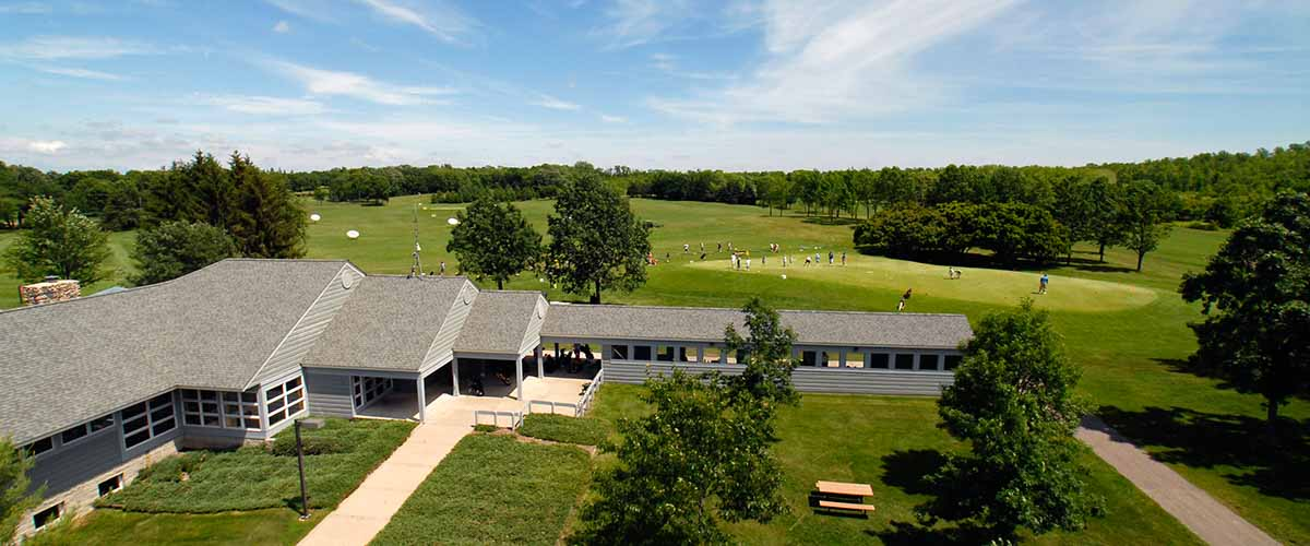 Cleary Lake Club House and golf course