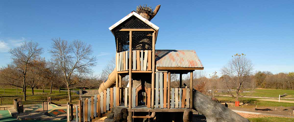 Bigwoods Play Area with Osprey tower