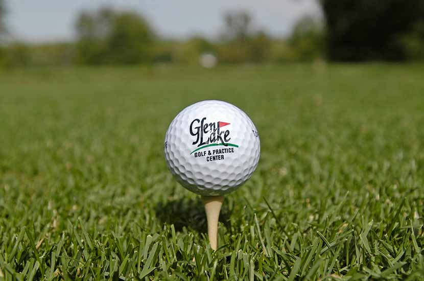 photo of glen lake golf ball