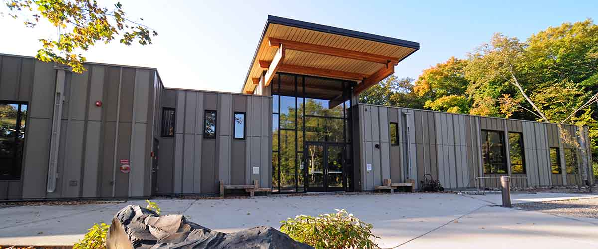 Eastman Nature Center exterior