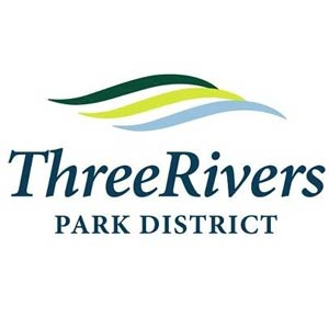 Three Rivers Park District logo.