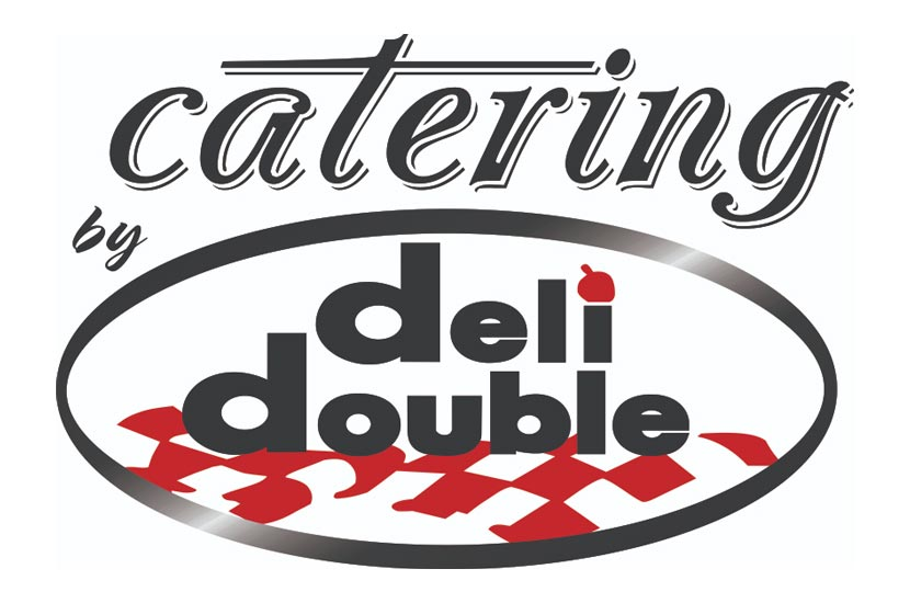 Catering by Deli Double logo.