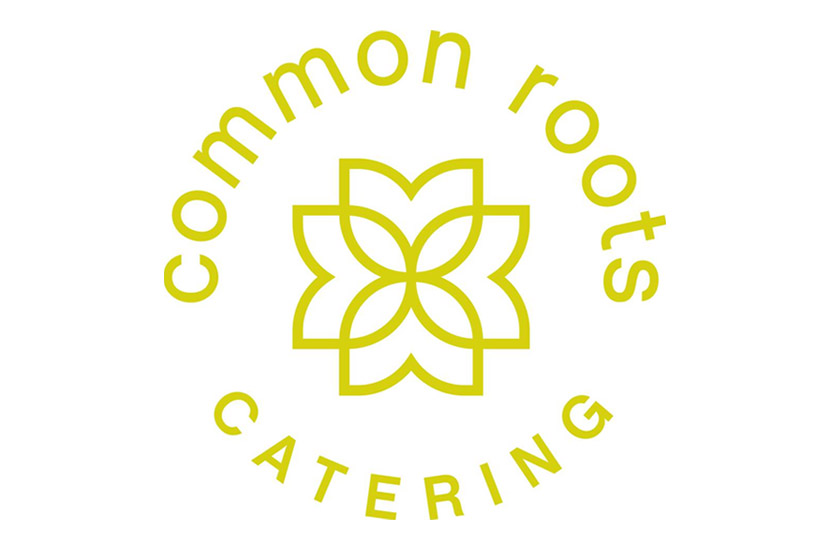 Common Roots catering logo.