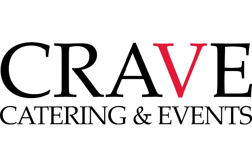 Crave catering logo.