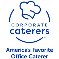 Corporate Caterers logo.