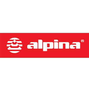 red alpina sports logo