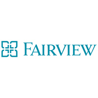 teal Fairview health logo.