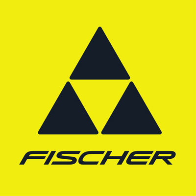 yellow and black fischer sports logo