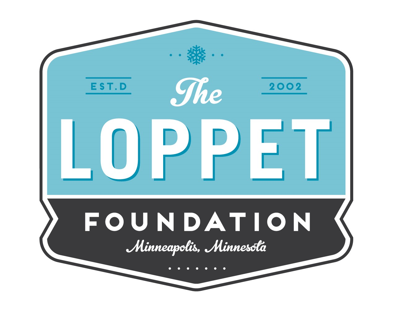 The Loppet Foundation logo.