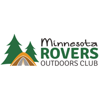Minnesota Rovers outdoors club logo.