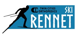Twin Cities Orthopedic Ski Rennet logo