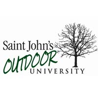St. John's Outdoor University logo.