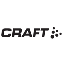 Black and white logo for Craft Custom.